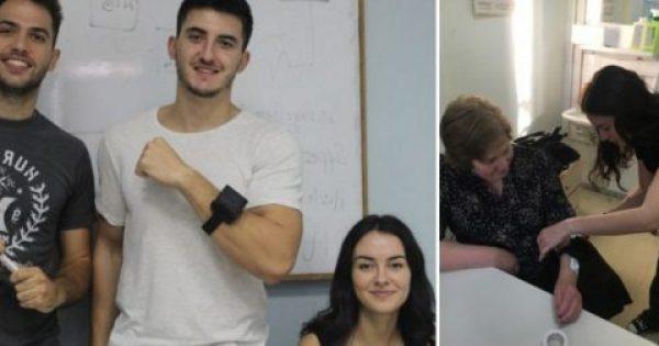 Τρεις 23χρονοι φοιτητές από τη Θεσσαλονίκη έφτιαξαν συσκευή που πολεμάει τη νόσο του Πάρκινσον