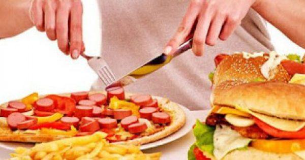 Τι συμβαίνει στο σώμα μας κάθε φορά που τρώμε fast food