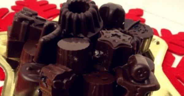 Αφράτα και πολύ οικονομικά Χριστουγεννιάτικα σοκολατάκια