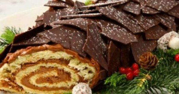 Κορμός Χριστουγεννιάτικος και άλλες Χριστουγεννιάτικες συνταγές