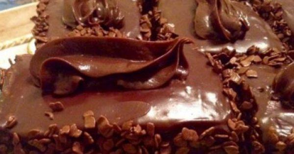 Σπέσιαλ Τούρτα με σοκολάτα Γκανάζ, να την εξαφανίσεις στο άψε σβήσε