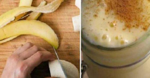 Βράσε Μπανάνα Και Κανέλα, Πιες Το Ζουμί Λίγο Πριν Τον Ύπνο Και Θα Μας Θυμηθείς!