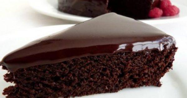 Νόστιμο και γρήγορο Σοκολατένιο κέικ χωρίς αυγά