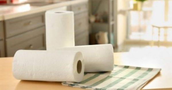 Το κόλπο για να χρησιμοποιείς λιγότερο χαρτί κουζίνας