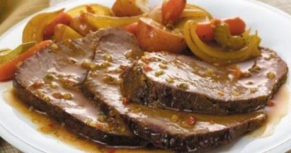 Λεμονάτο μοσχαρίσιο νουά κατσαρόλας.. Κλασικό και αγαπημένο πιάτο!
