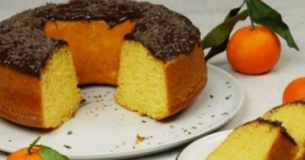 Κέικ μανταρίνι πανεύκολο χωρίς βούτυρο