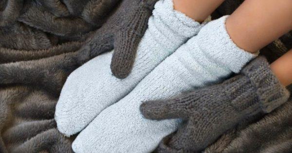 Κρύα πόδια και χέρια: 7 μυστικά για να ζεσταθείτε!!!