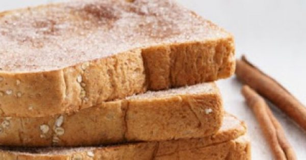 Ψωμί ολικής με κανέλα! Το ιδανικό πρωινό για αδύνατη σιλουέτα