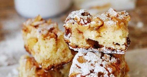 Το πιο εύκολο και λαχταριστό Κέικ Μήλου με Μέλι και Κανέλα!