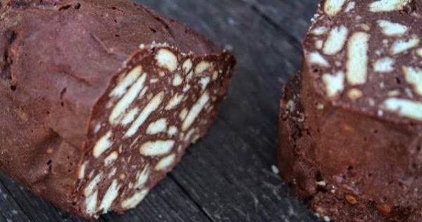 Φανταστικός κορμός σοκολάτας Μωσαϊκό (Video)