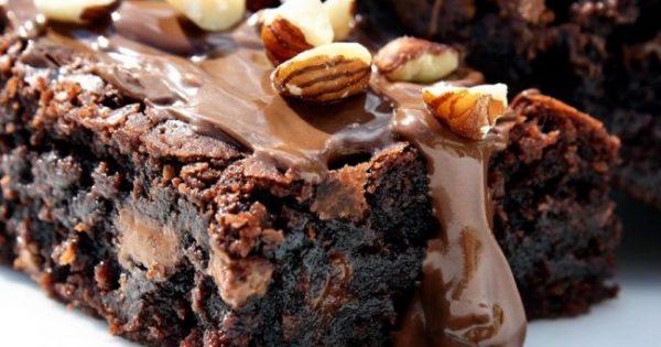 Φτιάξτε Σοκολατένια Μπράουνις Με Μόλις 37 Θερμίδες Το Κομμάτι