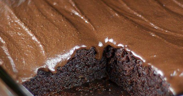 Φτιάξτε Νηστίσιμο κέικ σοκολάτα χωρίς καθόλου αυγά και βούτυρο