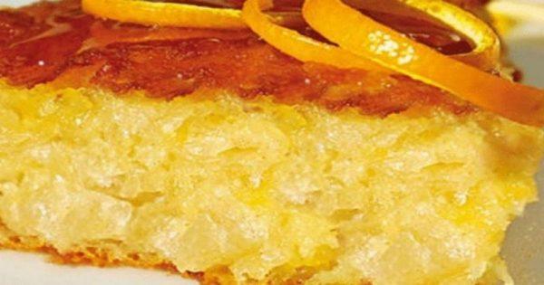 Πορτοκαλόπιτα: Εύκολη συνταγή για να γίνει αφρός