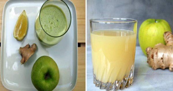 Φτιάξτε σπιτικό χυμό με αυτά τα 3 συστατικά και καθαρίστε το έντερό σας.