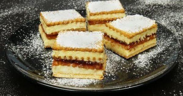 Γλυκό ψυγείου με μπισκότα (Video)