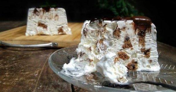 Υπέροχος κορμός παγωτό με 3 μόνο υλικά (Video)