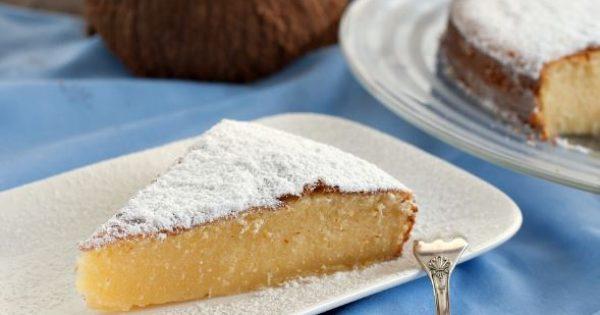 Κέικ καρύδας με ζαχαρούχο γάλα για αρχάριους
