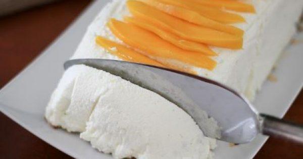 Παγωμένος κορμός καρύδας με ζαχαρούχο γάλα
