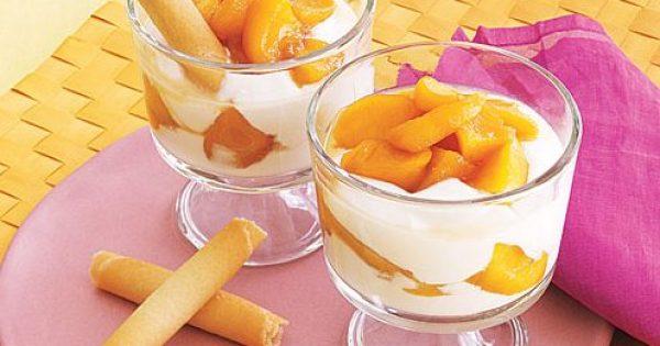 Γιαουρτόκρεμα με φρούτα