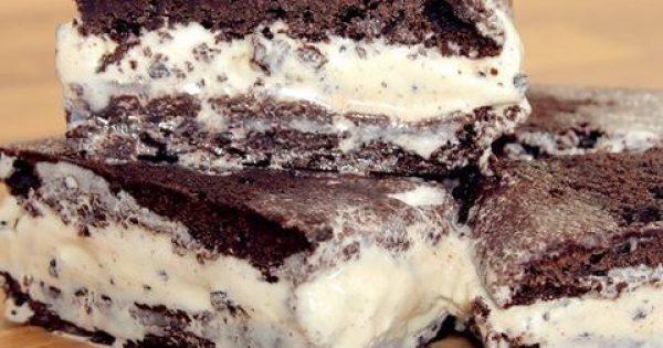 Παγωτό σάντουιτς με σπιτικό μπισκότο (Video)