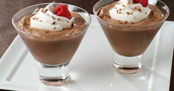 Μους σοκολάτας με γιαούρτι με 3 υλικά