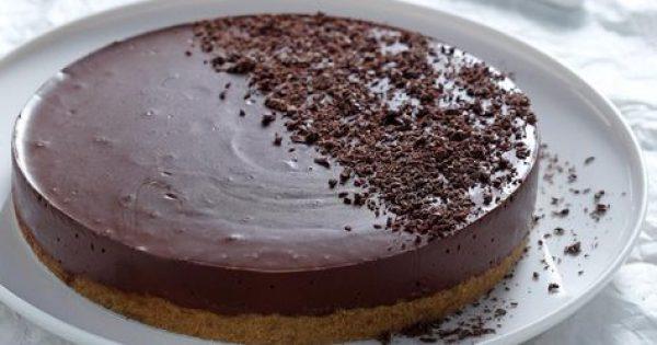 Σοκολατένια τούρτα γιαουρτιού με 5 υλικά